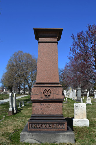 Grave of Enoch Pratt | by Monument City
