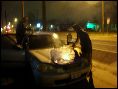Painting Car Hood With Spray Paint
