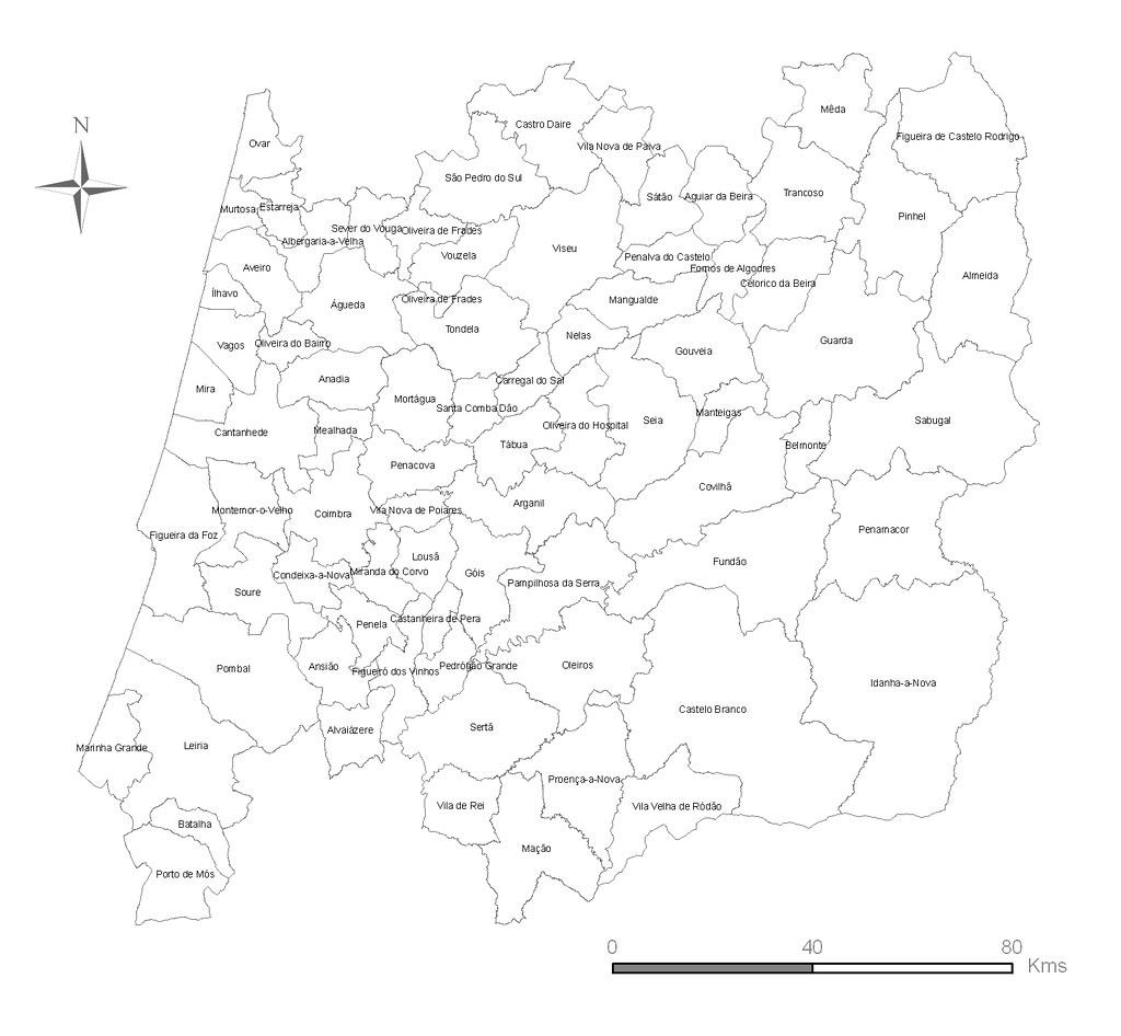 mapa zona centro de portugal Região Centro   78 Concelhos | A Região Centro (NUT II) cons… | Flickr mapa zona centro de portugal