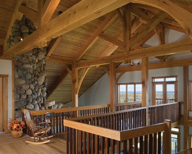Scenic Valley View Timber Frame Home Loft A Second