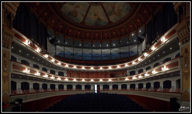 Teatro principal de castell n panor mica del interior - Interior de castellon ...