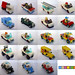 19 cars for a City diorama