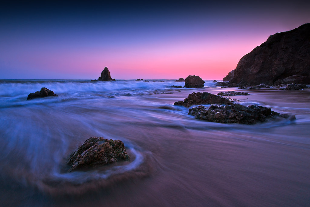 Lock Beach In Washington State