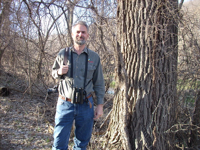 Rick at Fontenelle Forest