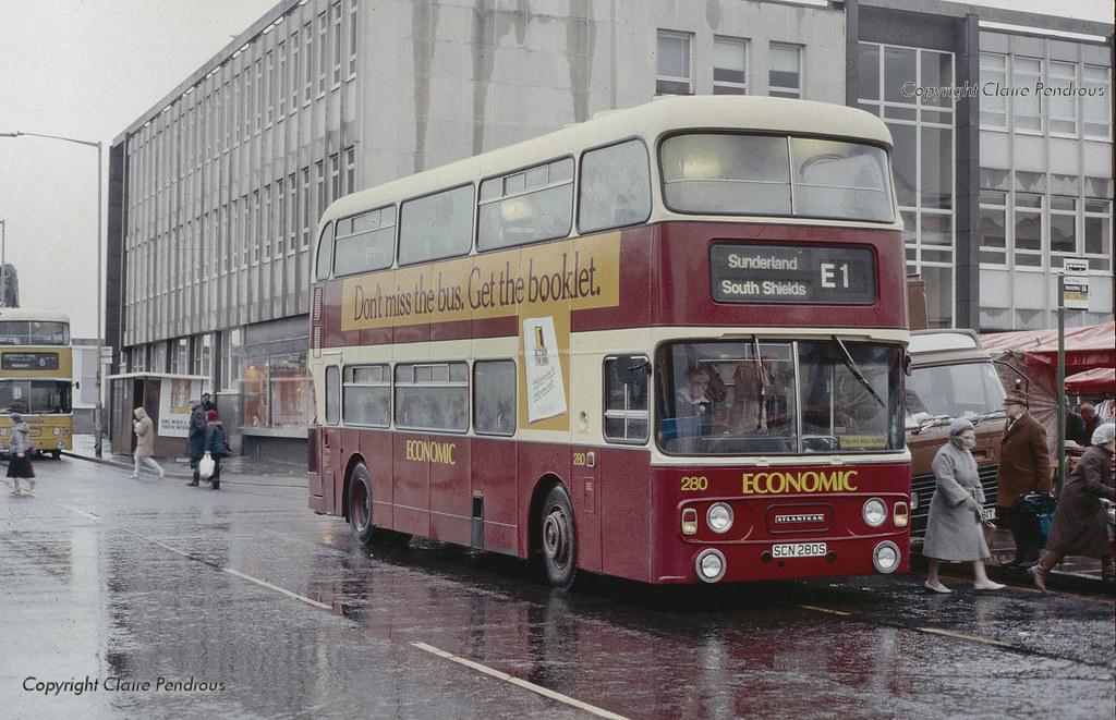 Church Way South Shields South Tyneside 1987 Busway