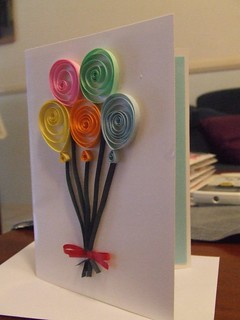 Balloon Card | by Renata Clarke Designs