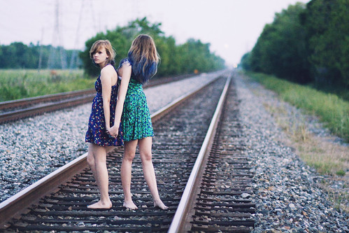 railroad tracks | by jackie luo.
