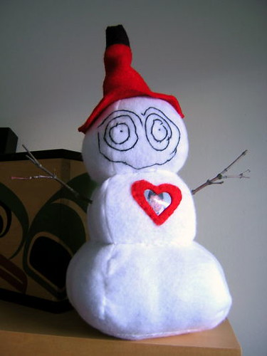 Carson's snowman | by Child's Own Studio