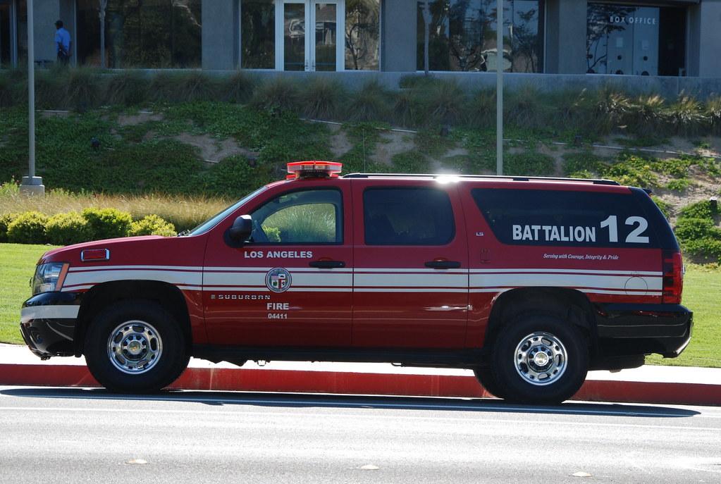 LOS ANGELES FIRE DEPARTMENT (LAFD) BATTALION 12 - CHEVY SU ...