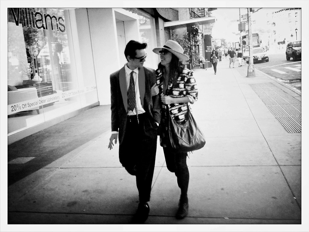 The Coolest Couple In Soho Live Up Romance Flickr Street By Sion