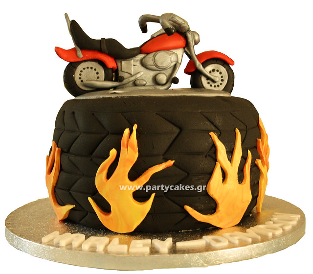 Cake Art Jeddah : Harley Davidson Cake Explore Party Cakes By Samantha s ...