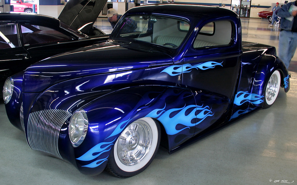 1940 Ford pickup - Rick Dore's Symphony in Blue - fvl | Flickr