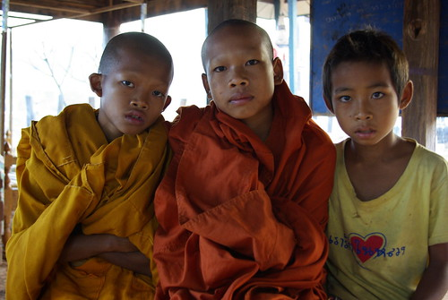 Young Monks - Southern Laos | by The Hungry Cyclist