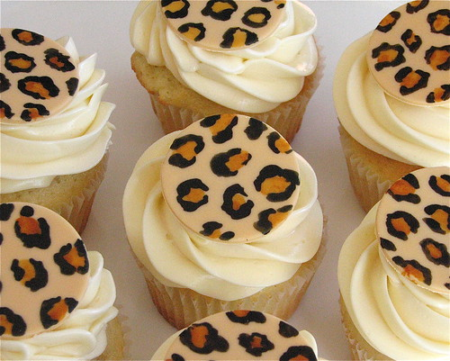 Leopard Spot Cupcakes | by Whipped Bakeshop