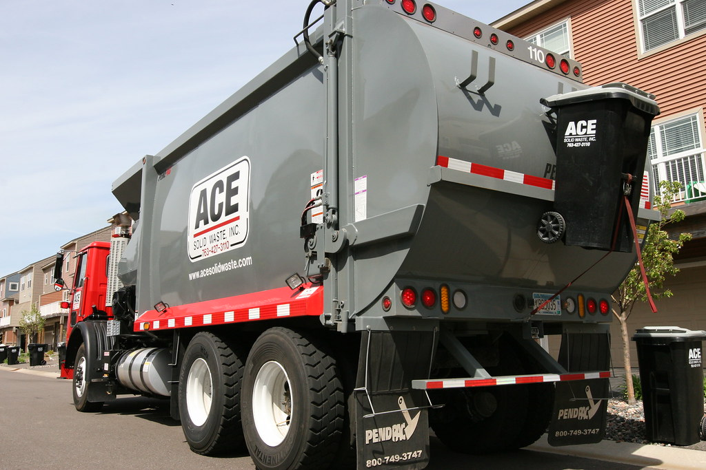 Ace solid waste garbage truck www acesolidwaste com flickr