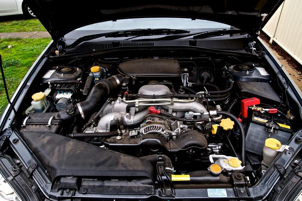 Subaru Legacy 3 6 R >> Subaru Liberty EJ25 Engine Bay | View on Black | Visual Clarity Photography | Flickr