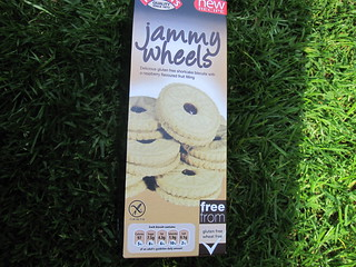 Jammy Wheels Gluten Free Vegan Cookies | by veganbackpacker