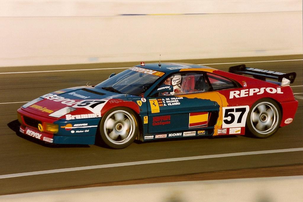 1994 Le Mans Ferrari 348 Gtc Lm Prince Alfonso De Orl 233 Ans Flickr
