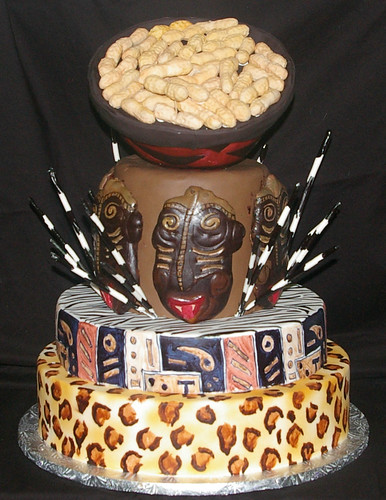 African Wedding Cakes Pictures