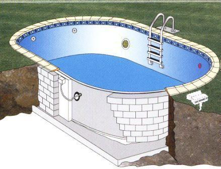 Como construir uma piscina de oncreto piscina n o - Precio de hacer una piscina ...
