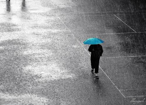 my experience on a rainy day