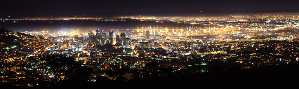 ... Cape Town City Lights   By MountainSeb
