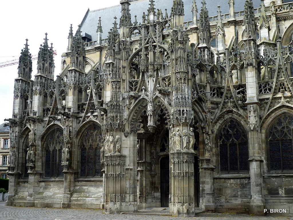 Foyer De L Art Gothique : Porche gothique flamboyant de l église louviers eure