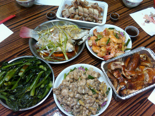 Typical Chinese Food