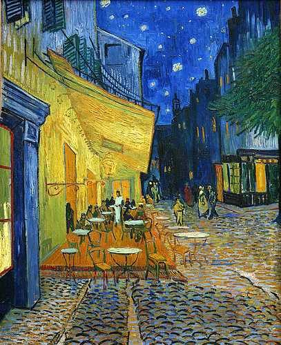 Vincent Van Gogh Terrace Of A Caf 233 At Night Place Du For