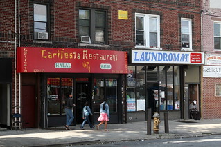 Carifesta and neighbor, Richmond Hill, Queens | by Eating In Translation