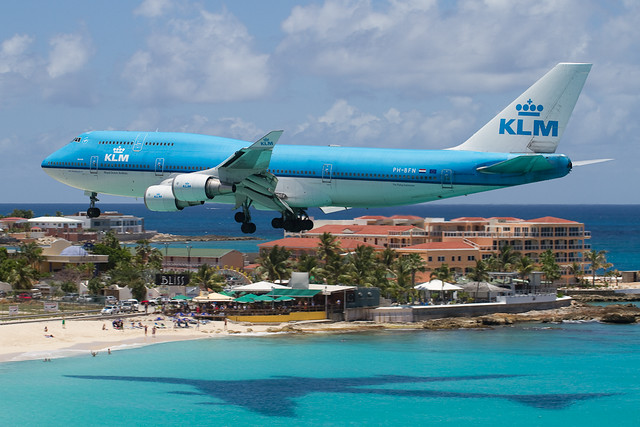 Alex Lukyanov Sint Maarten Island Maho Beach