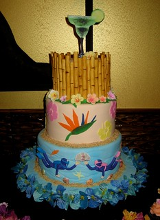 Luau wedding | by Cake Diane Custom Cake Studio (eyedewcakes)