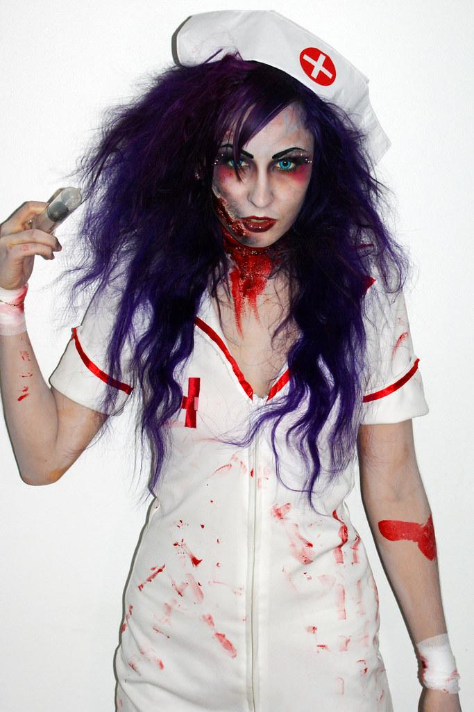 Crazy Nurse Makeup Ronique Van Houtte