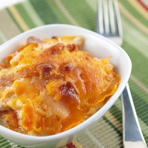 Sweet Potato, Apple, and Caramelized Onion Gratin | Flickr - Photo ...