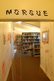 University library Morgue CSI theme Halloween 2007. | by California State University Channel Islands
