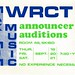 announcer auditions