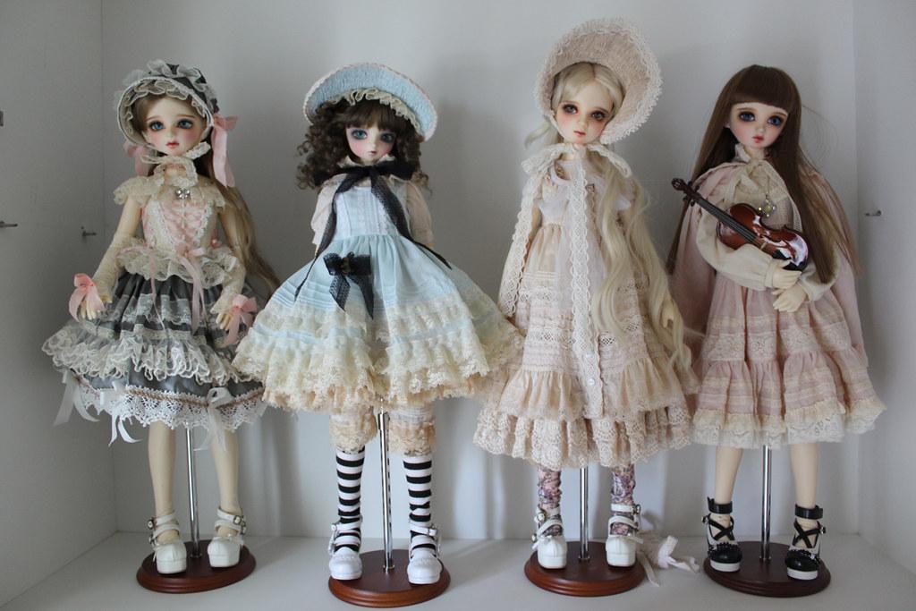 Шарнирные куклы своими руками
