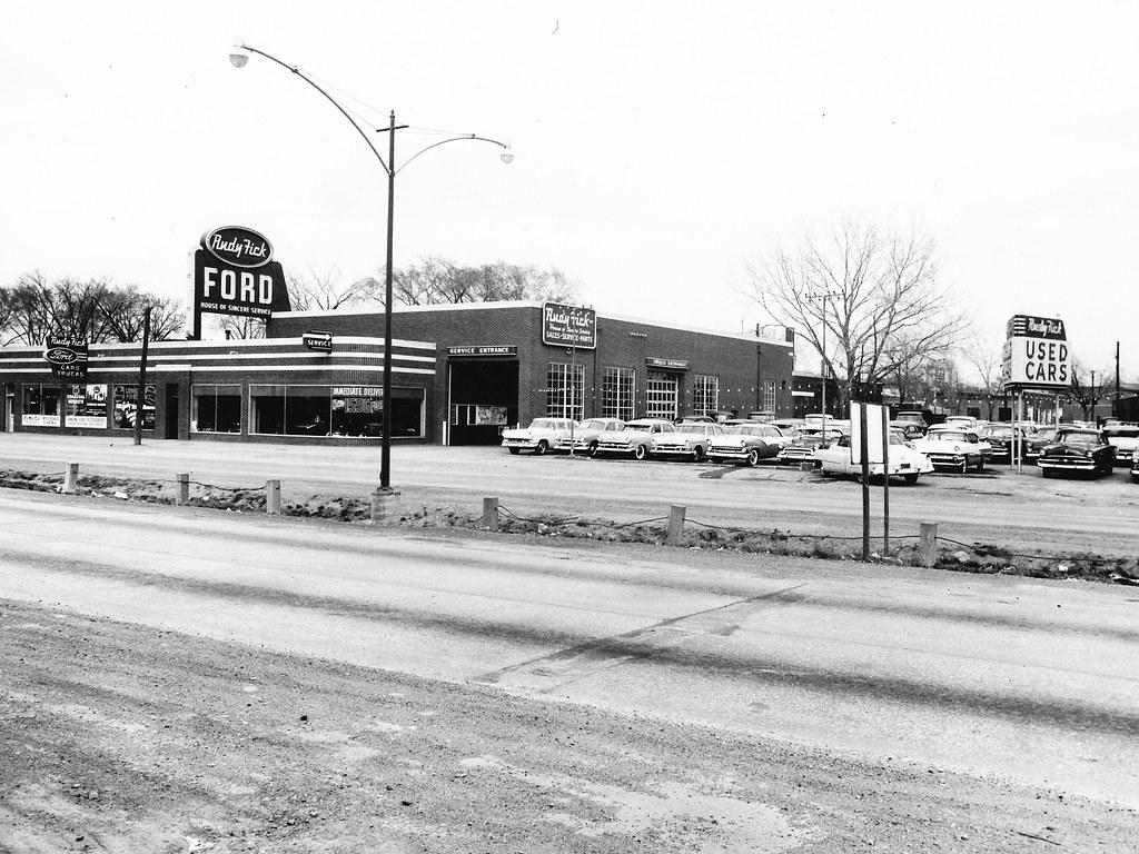 Rudy Fick Ford, North Kansas City, MO, 1956 | Bill Cook ...