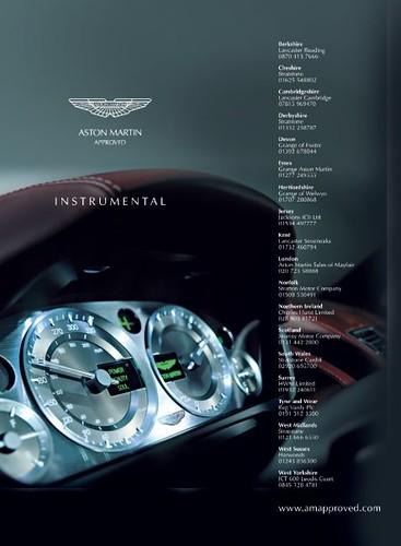 Aston Martin Advertisement Adam Ray Flickr