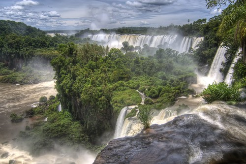 Iguazu Falls from the Upper Circuit | by spinfly