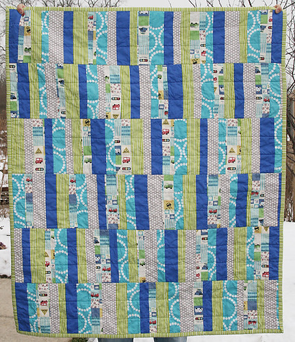 Beep Beep Boy Quilt Front | by Fresh Lemons : Faith
