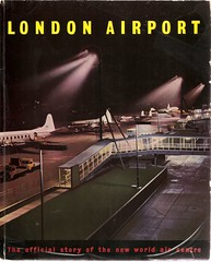 Guide to London Heathrow Airport - 1956