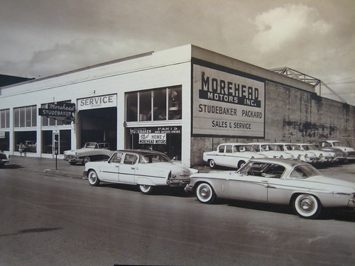1955, selling Studebaker and Packard in Aberdeen, Washington | by Hugo-90