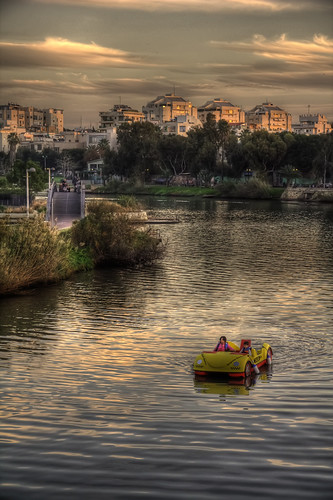 Boat on the river HDR | by Guy Prives