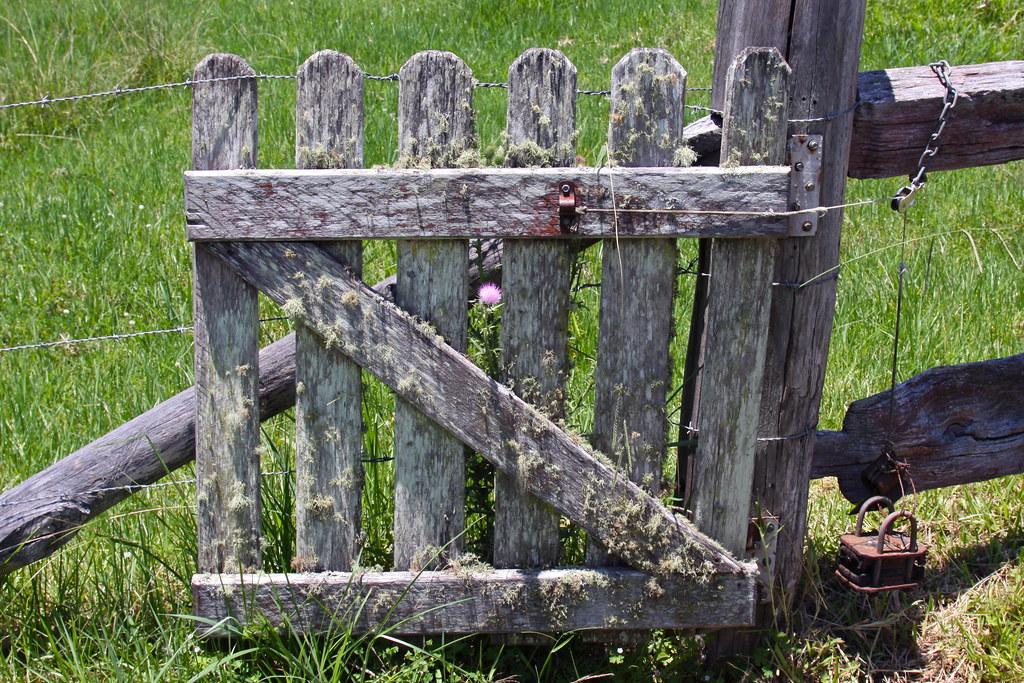 Old Wooden Gate Cskk Flickr