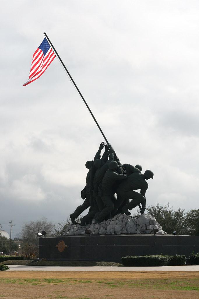 Img 0755 Marine Corps War Memorial At Harlingen Tx This Flickr