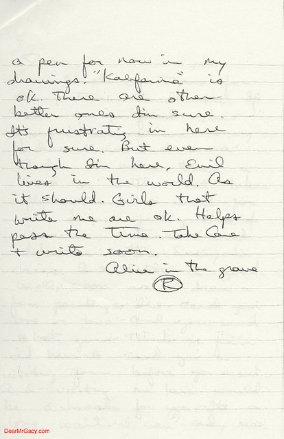 richard ramirez letter to jason moss page 2 of 2 flickr