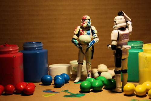 The M&M's Painter | by DocChewbacca