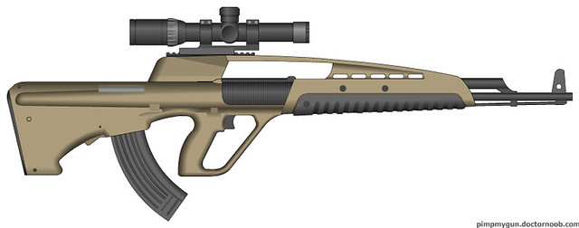 XM8 Bullpup Concept   ...