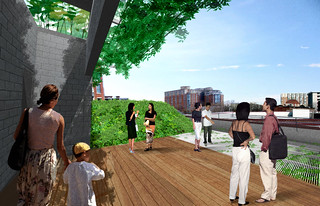 Visitors Rendering | by Landscape Architects